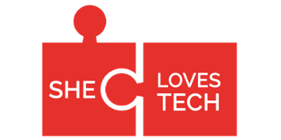 She Loves Tech logo